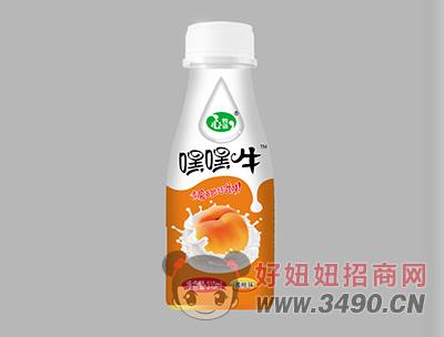 心牧语风味饮品黄桃味310ml