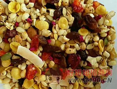 谷物混合燕麦片