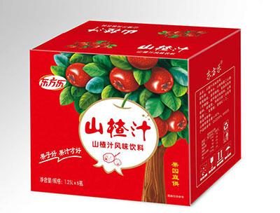 山楂汁�L味�料1.25LX6瓶