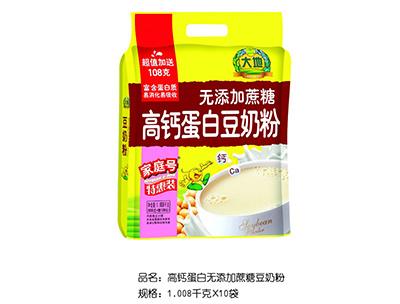 大地高�}蛋白�o添加蔗糖豆奶粉�_�{1.008kg×10