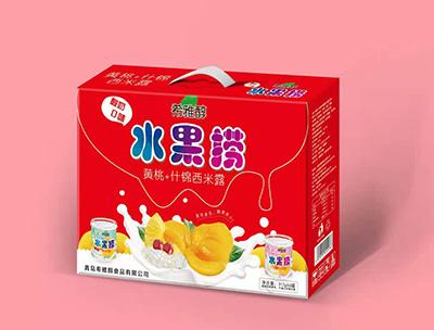 黄桃+什锦西米露