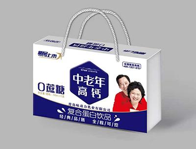中老年高钙复合蛋白饮品250mlX12盒