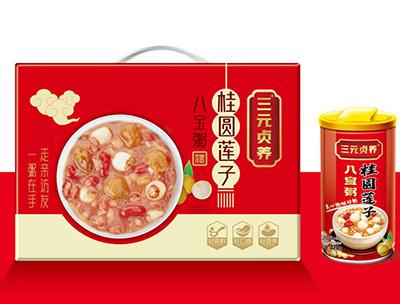 桂圆莲子八宝粥320g礼盒装