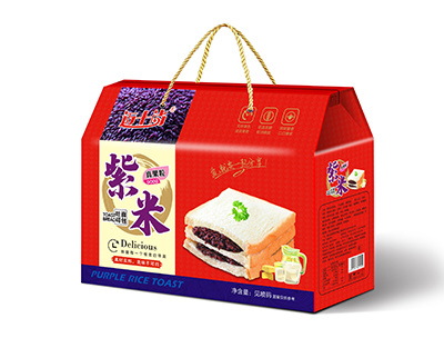 迈十尚紫米吐司