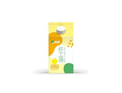 米奇黄桃+燕麦饮品458ml