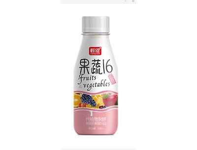 果蔬16纯植物发酵果蔬乳酸菌饮品红338ml