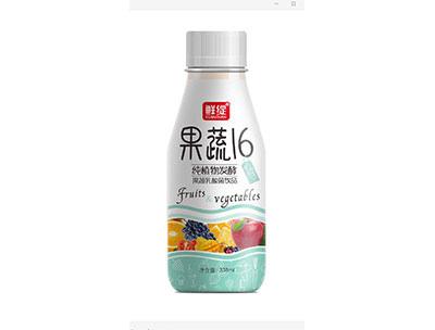 果蔬16�植物�l酵果蔬乳酸菌�品�{338ml