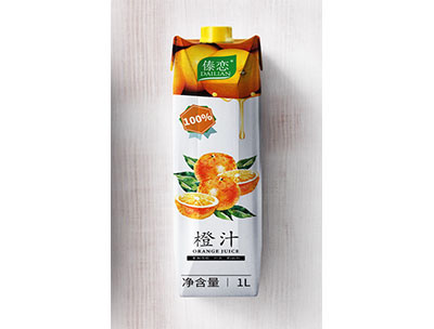 傣�俅u石包橙汁1L