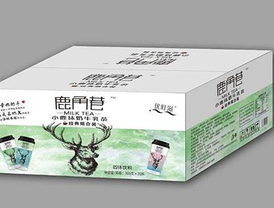 小鹿抹奶牛乳茶