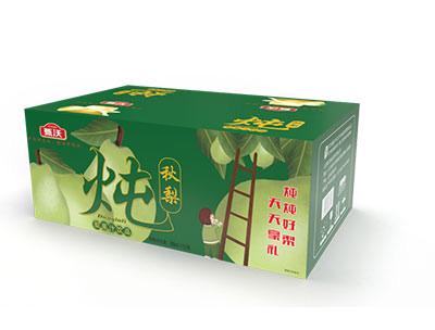 甄沃炖秋梨果汁饮品箱装