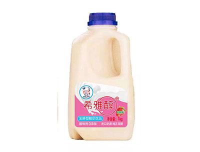 希雅醇草莓味发酵型酸奶1kg