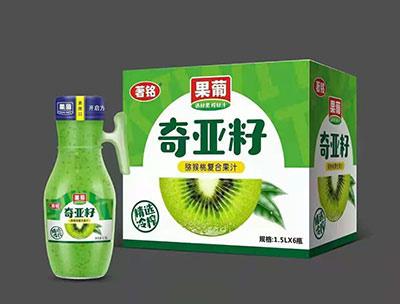 果葡奇��籽�J猴桃�秃瞎�汁1.5LX6瓶