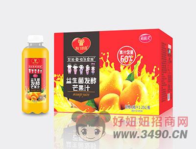 益生菌�l酵芒果汁1X8X1.25L