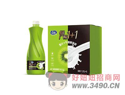 益生菌�J猴桃汁乳�品1.25LX6