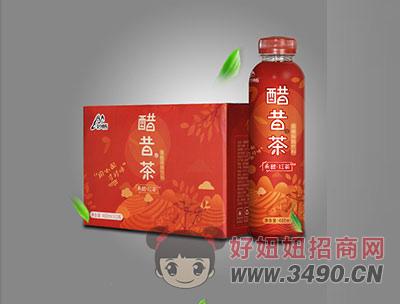 妙畅果醋红茶480ml