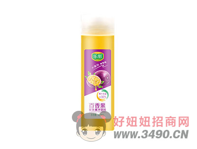 百香果复合果汁饮料408ml