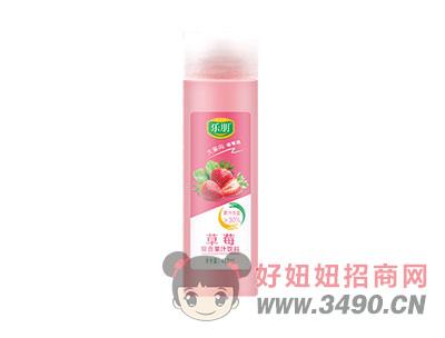 草莓复合果汁饮料408ml