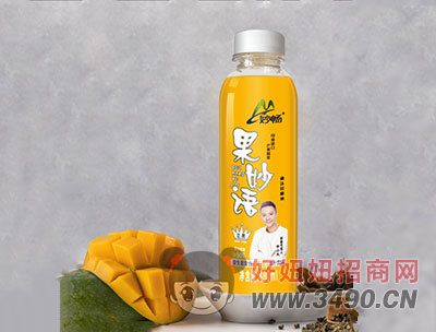 妙畅果妙语果汁饮料芒果味480ml