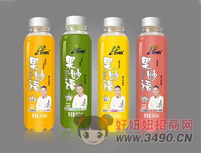 妙畅果妙语果汁饮料480ml