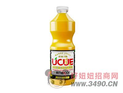 芒果味复合果汁lehu国际app下载1.25L
