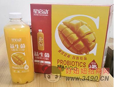 星启动益生菌芒果果汁饮料
