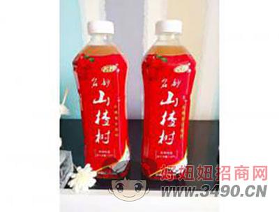 名妙山楂汁瓶装