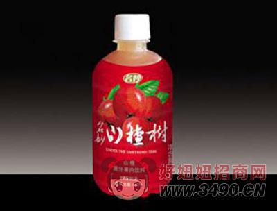 山楂果汁果肉饮料350ml