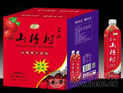 名妙山楂汁箱装1.25Lx6瓶