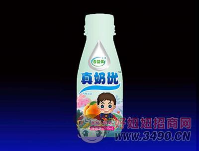合益优真奶优风味饮品 黄桃+椰果
