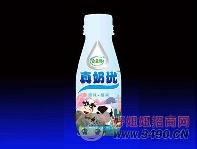 合益优真奶优风味饮品 原味+椰果