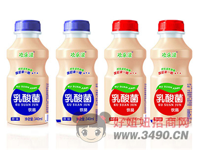 欢乐滋乳酸菌饮品340ml