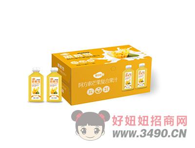 芒果复合果汁箱装