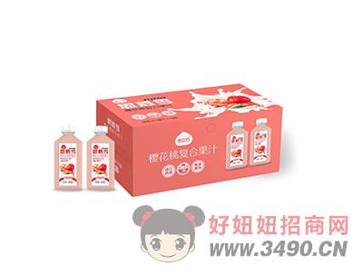 樱花桃复合果汁箱装
