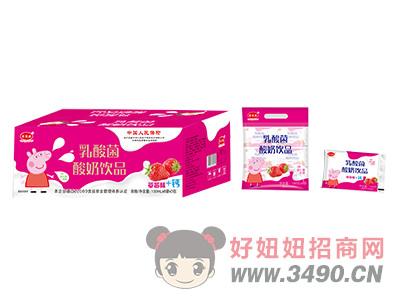 乳酸菌酸奶饮品箱装