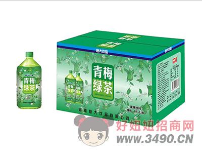 果味�料�G茶1Lx12瓶