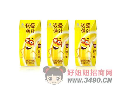 香蕉果汁�料200ml