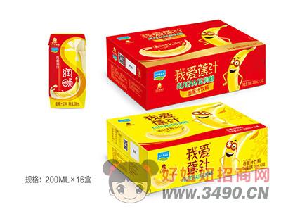 香蕉汁�料200mlX16盒