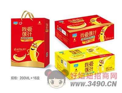 香蕉汁�料200mlX16瓶