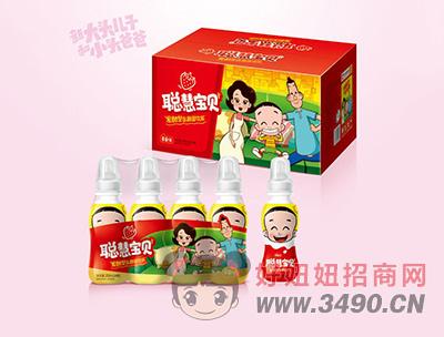 聪慧宝贝草莓味乳酸菌lehu国际app下载200mlx24瓶