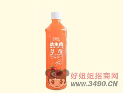 益生菌草莓果味饮料500ml