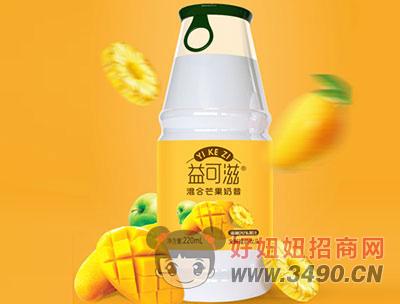 益可滋芒果味奶昔220ml