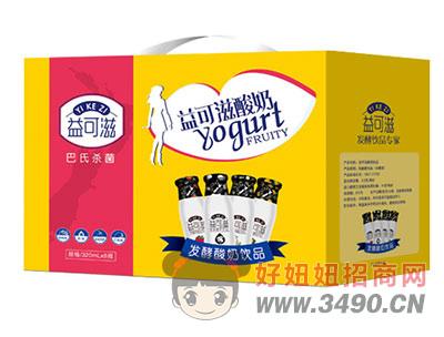 益可滋�l酵玻璃瓶酸奶�Y盒