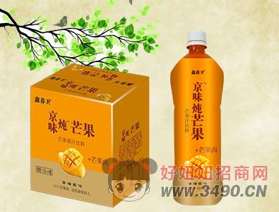 鑫养卫芒果果汁饮料1.25Lx6瓶