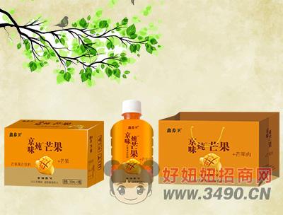 鑫养卫芒果果汁饮料350mlx15瓶