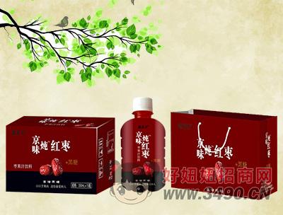 鑫养卫枣果汁饮料350mlx15瓶