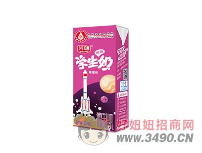 学生奶探月-200ml苗条装-草莓