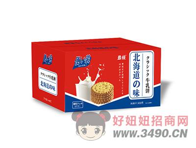 北海道牛乳饼箱装400g
