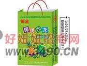 椰星椰果沙龙菠萝派饮料手提袋250g1