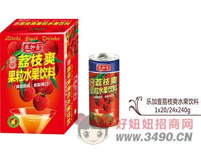 荔枝爽水果饮料240g