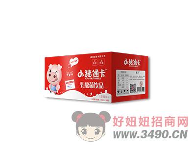 小猪通卡草莓味乳酸菌200mlx24瓶